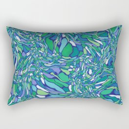 Trippy-Oceania colorway Rectangular Pillow
