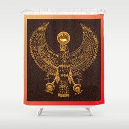 EGYPTIAN GOD HORUS Shower Curtain