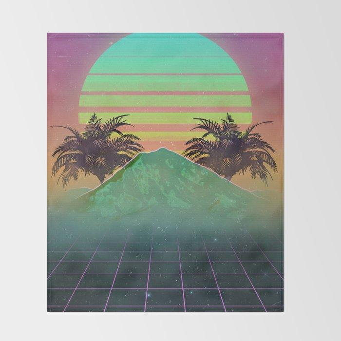 80s love Throw Blanket