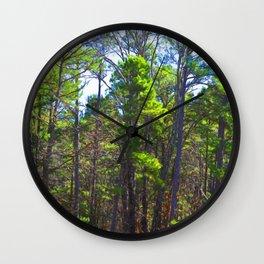 The Trees 4 Wall Clock