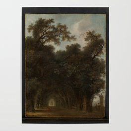 A Shaded Avenue,ca. 1775 Poster