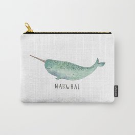 Cute Narwhal Carry-All Pouch