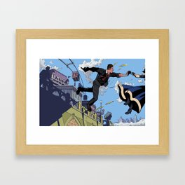 Bioshock Infinite - Catch, Booker Framed Art Print