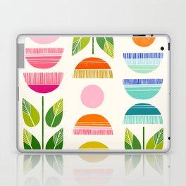 Sugar Blooms - Abstract Retro Inspired Design Laptop & iPad Skin