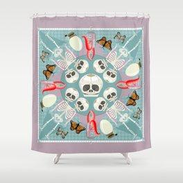 Curiosity Shop Scarf Print Shower Curtain