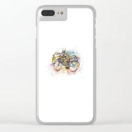 Bulls Biker Clear iPhone Case