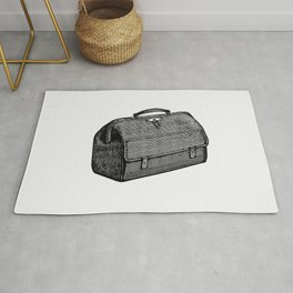 Medical bag from The Ocean as a Health Resort A Handbook of Practical Information as to Sea-Voyages Rug