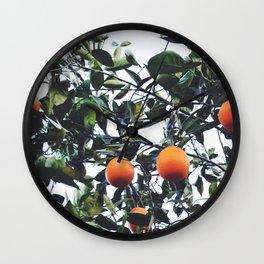 Naranjas Wall Clock