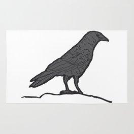 Black Crow Rug