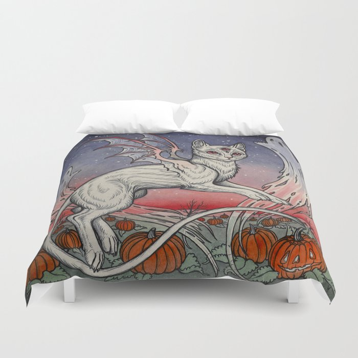Spirits Of All Hallows Eve Duvet Cover
