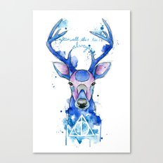 Always. Harry Potter patronus. Canvas Print