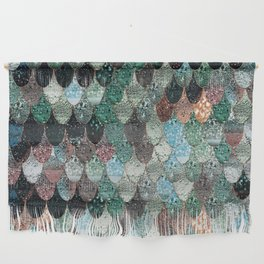 SUMMER MERMAID SEAWEED MIX by Monika Strigel Wall Hanging