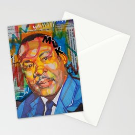 Malcolm X King Stationery Cards