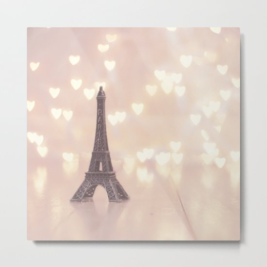 Left my heart in paris Metal Print