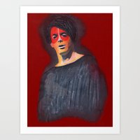 lou reed Art Prints featuring A Lou Reed Repo by Carella Ross