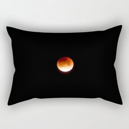 Super Blue Blood Moon Rectangular Pillow