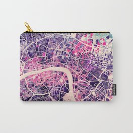 London Mosaic Map #2 Carry-All Pouch