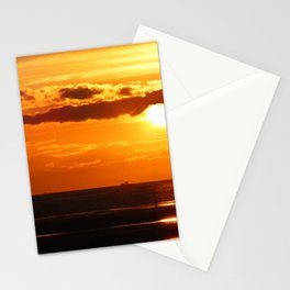 Sunset in the Bay Stationery Cards