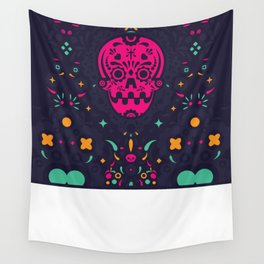 LOS MUERTITOS V01 Wall Tapestry