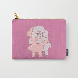 Poodle Hugs Carry-All Pouch
