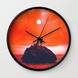 Sunn Wall Clock