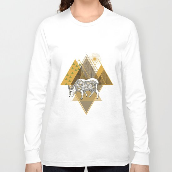 Mountain Goat Long Sleeve T-shirt