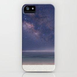 The Milky Way On Bali Beach iPhone Case