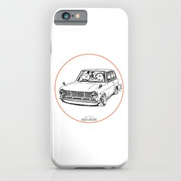 Crazy Car Art 0198 iPhone Case