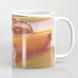 Tangerine Speedo Coffee Mug