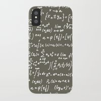 math iPhone & iPod Cases featuring Math by beach please