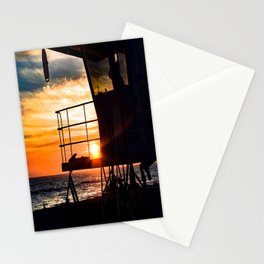 No Eclipse In Sight - Surf City September 27, 2015 Stationery Cards