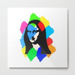 Mona.L Metal Print