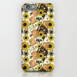 Sweet Honey Bees iPhone Case