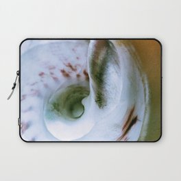 Sea Snail Portrait Laptop Sleeve
