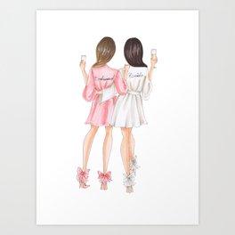 bridesmaids Art Print