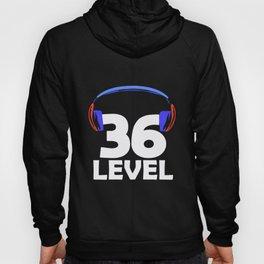 36th Birthday Gamer Video Game 36 Year Gaming Gift Hoody