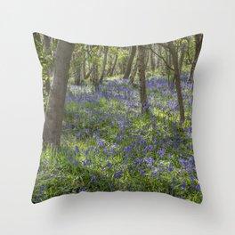 Seabrook Bluebells Throw Pillow