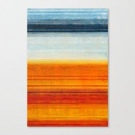 Yellowstone Orange Canvas Print