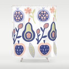 Fruits of your Effort Shower Curtain
