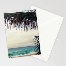 Sea and Palm  Stationery Cards