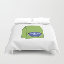 Powdered H2O Duvet Cover