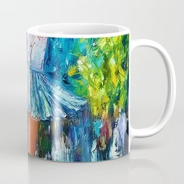 Dance In The Rain Of Color Coffee Mug