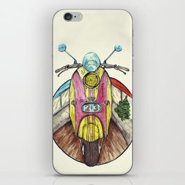Speed ​​is in everyone. iPhone Skin