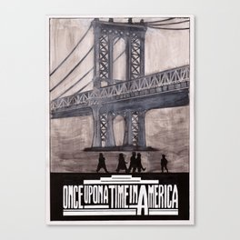 once upon a time in america poster Canvas Print