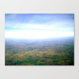 Skies Over Argentina  Canvas Print