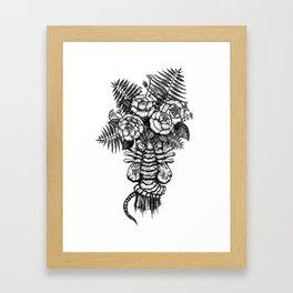 Facehugger Bouquet Framed Art Print