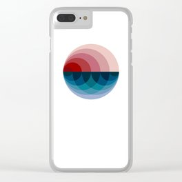 #751 Clear iPhone Case