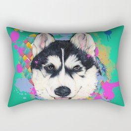 Husky Malamute Rectangular Pillow