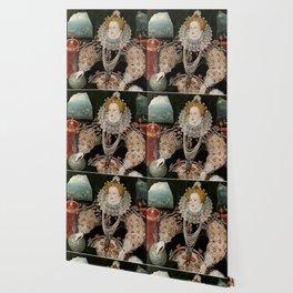 QUEEN ELIZABETH I - THE ARMADA PORTRAIT Wallpaper