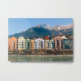 Innsbruck, Austria Metal Print